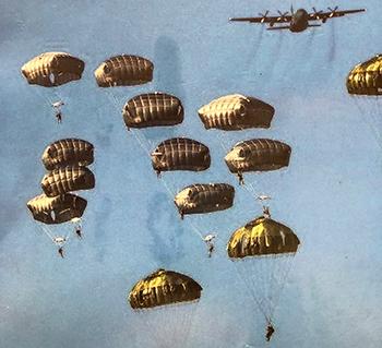 落下傘部隊イメージ